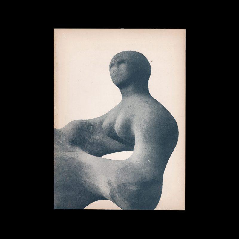 Henry Moore, Stedelijk Museum Amsterdam, 1961 designed y Willem Sandberg