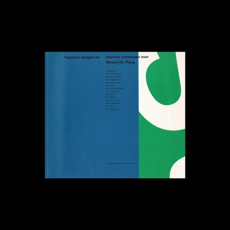 Fourteen designs for Weverij De Ploeg, Stedelijk Museum, Amsterdam, 1989. Designed by Arlette Brouwers