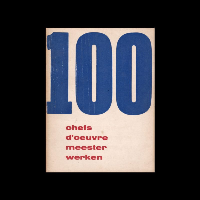 100 chefs d' oeuvre meesterwerken, Stedelijk Museum, Amsterdam, 1952