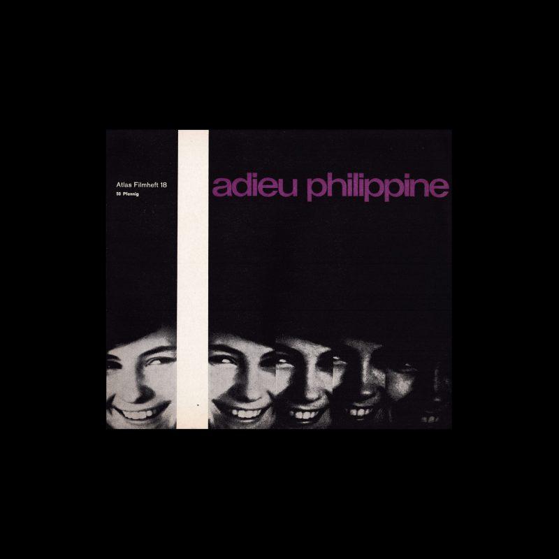 Atlas Filmheft 18 - Adieu Philippine designed by Fischer-Nosbisch