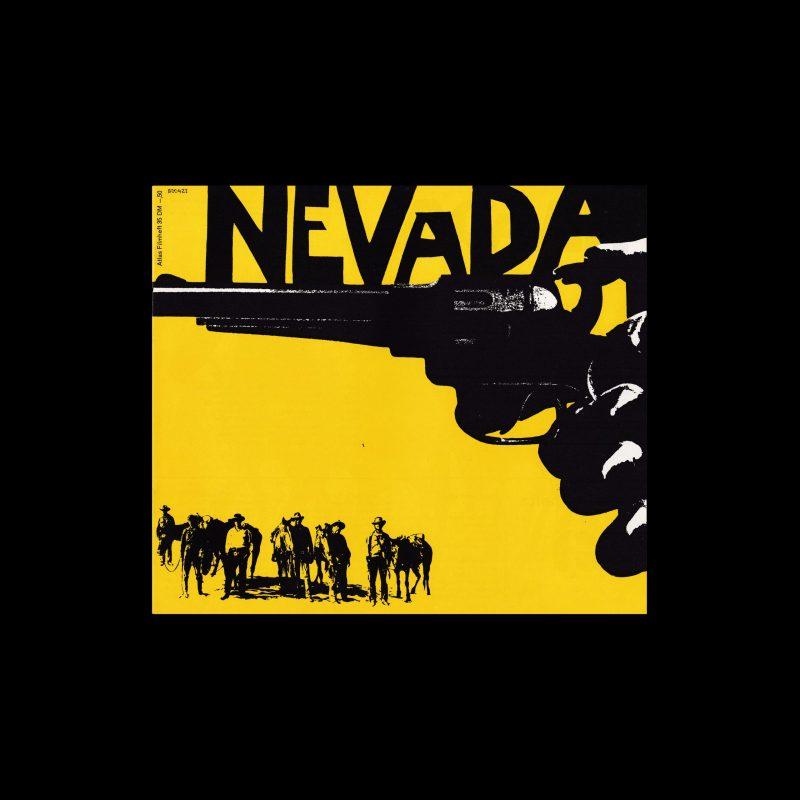 Atlas Filmheft 35 - Nevada / Yellow Sky designed by Fischer-Nosbisch