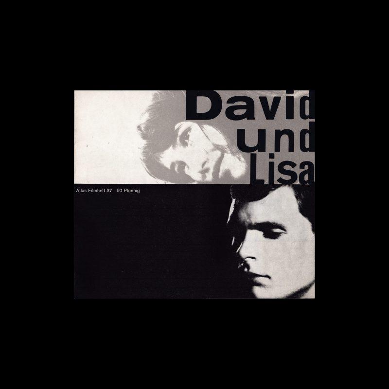 Atlas Filmheft 37 - David und Lisa designed by Isolde Baumgart