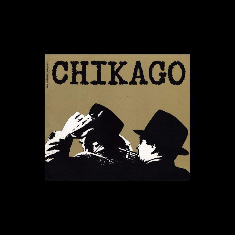 Atlas Filmheft 51 - Chicago - Engel mit schmutzigen Gesichtern designed by Fischer-Nosbisch