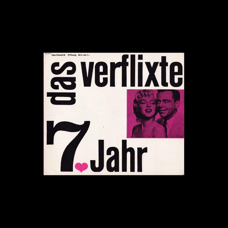 Atlas Filmheft 63 - Das verflixte 7. Jahr designed by Fischer-Nosbisch