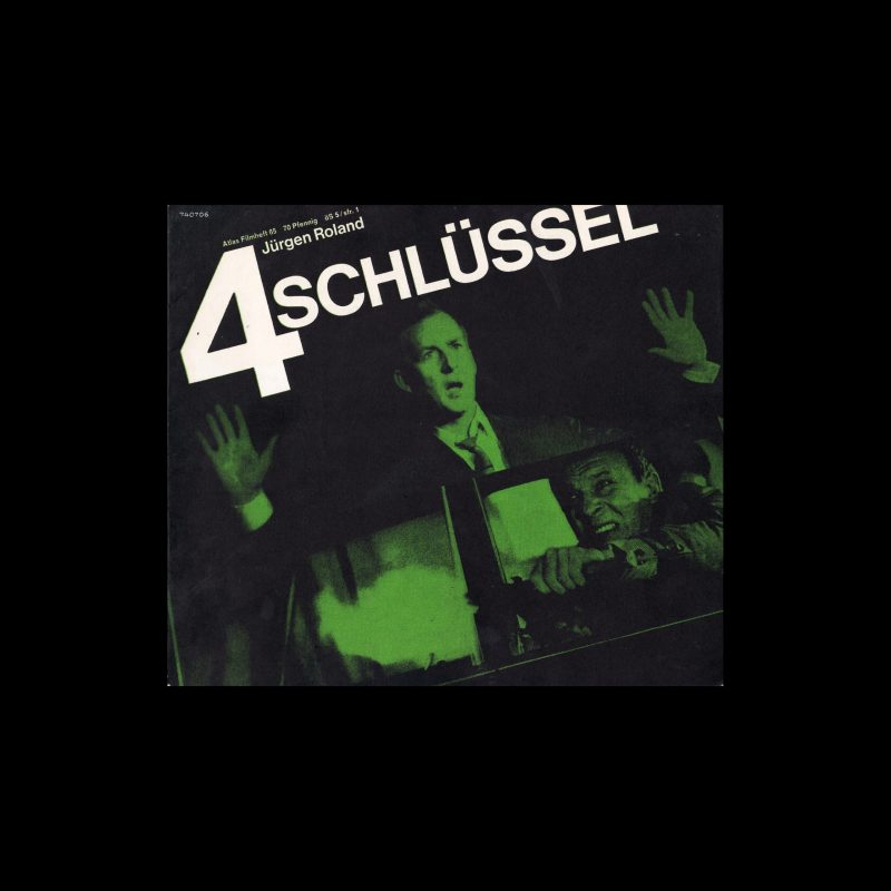 Atlas Filmheft 65 - 4 Schlüssel designed by Michel + Kieser