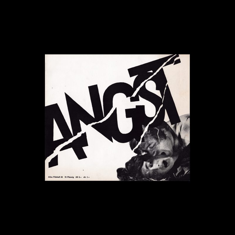 Atlas Filmheft 82 - Angst designed by Pavao Stalter