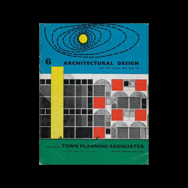 Architectural Design, June 1957. Cover design Theo Crosby