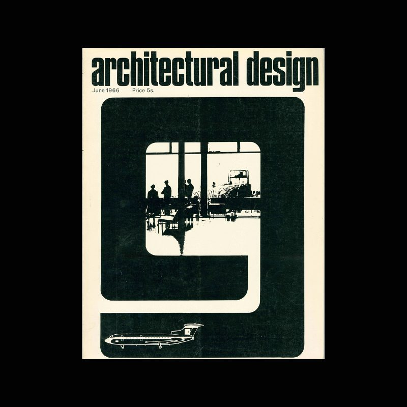 Architectural Design, June 1966. Cover design by James Mellor