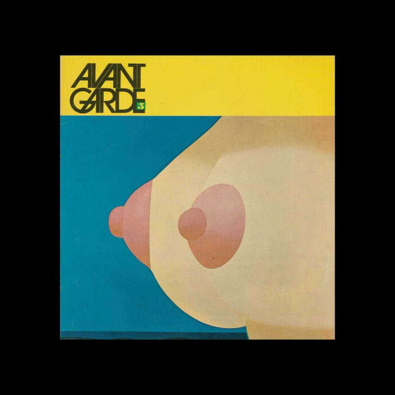 Avant Garde Volume 5, November 1968. Designed by Herb Lubalin