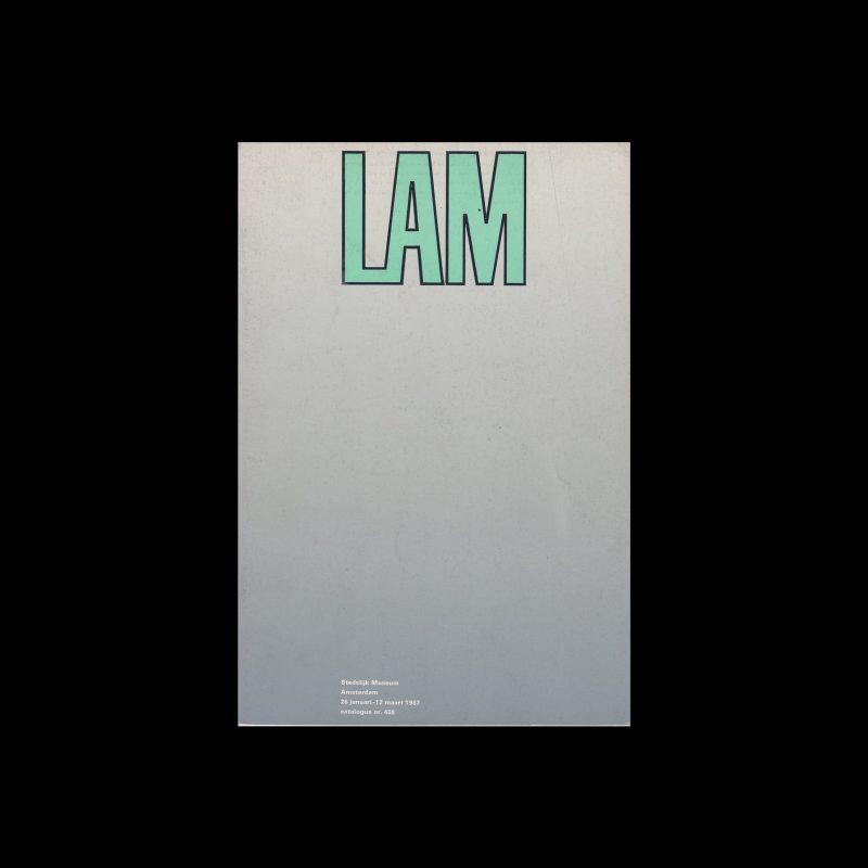 Wilfredo Lam, Stedelijk Museum, Amsterdam, 1967 designed by Wim Crouwel and Josje Pollmann (Total Design)