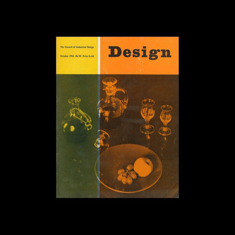 Design, Council of Industrial Design, 94, October 1956