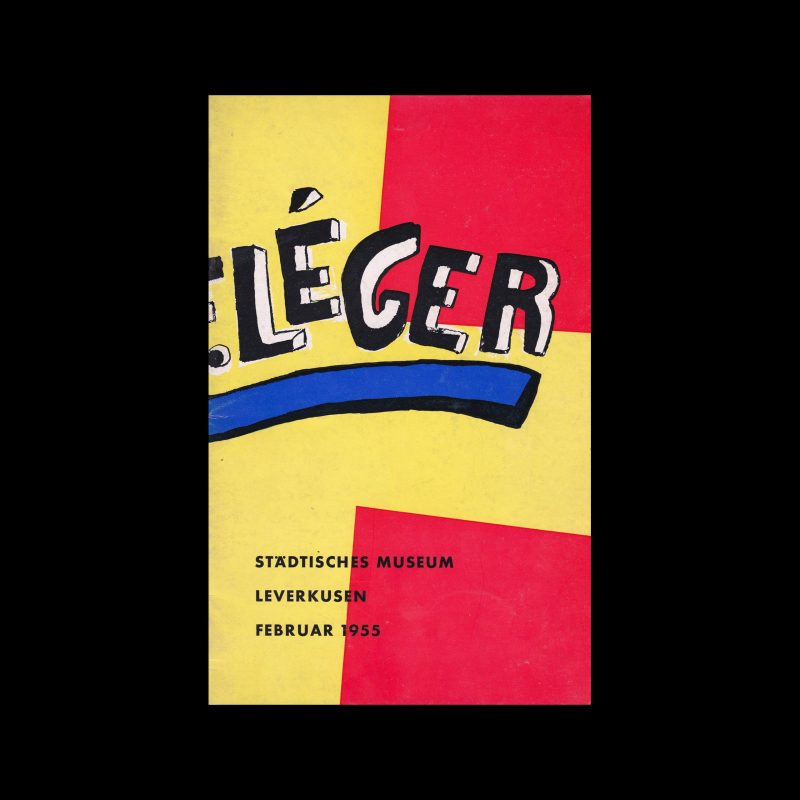 Fernand Léger, Städtisches Museum Leverkusen, 1955