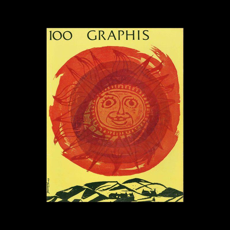 Graphis 100, 1962. Cover design by Antonio Frasconi