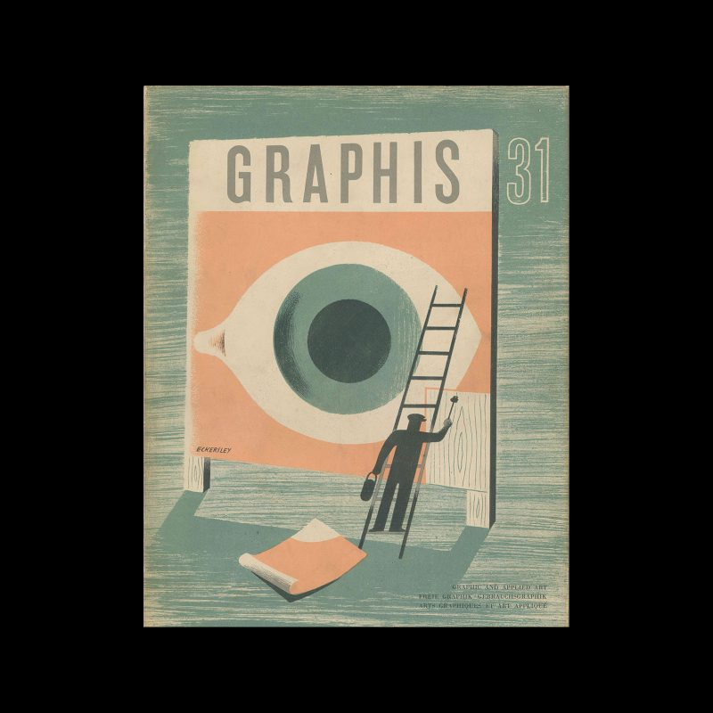 Graphis 31, 1950. Cover design by Tom Eckersley