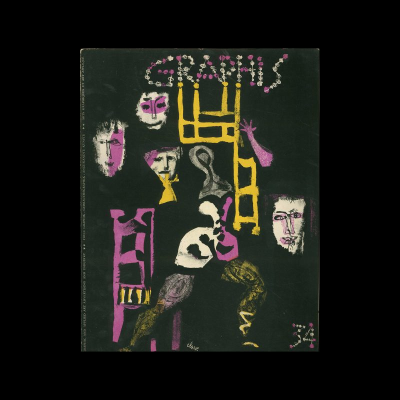 Graphis 34, 1951. Cover design by Antoni Clavé