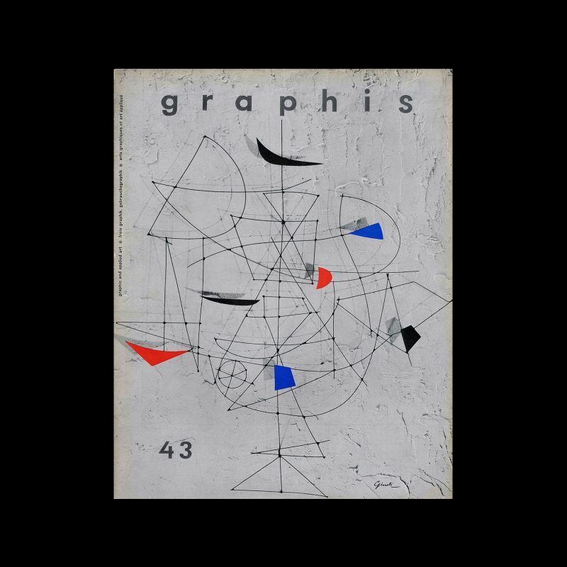 Graphis 43, 1952. Cover design by George Giusti