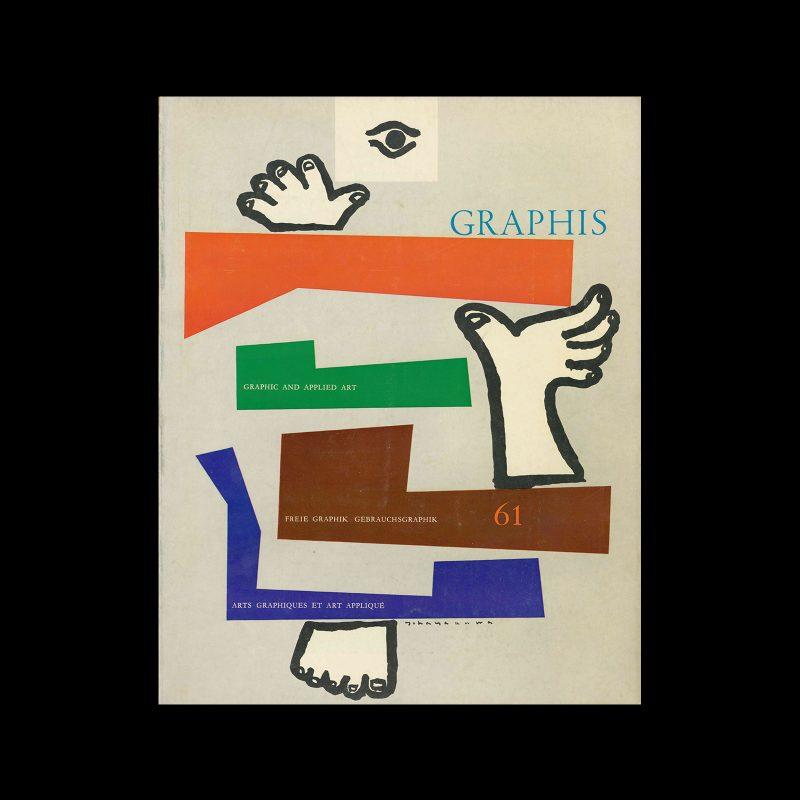 Graphis 61, 1955. Cover design by Yoshio Hayakawa