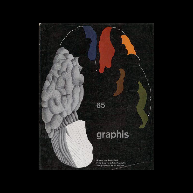 Graphis 65, 1956. Cover design by Gottfried Honegger