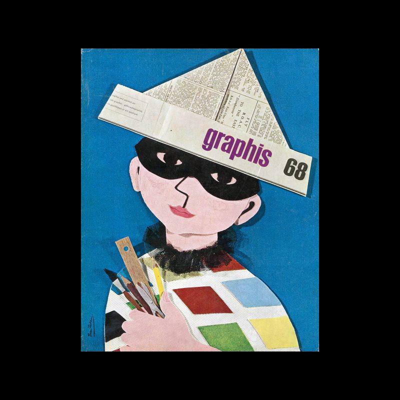 Graphis 68, 1956. Cover design by Joan Jordan