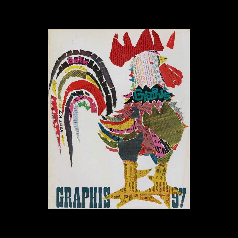Graphis 97, 1961. Cover design by Hoot von Zitzewitz.