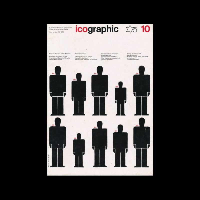 Icographic 10, 1976. Published by theInternational Council of Design.