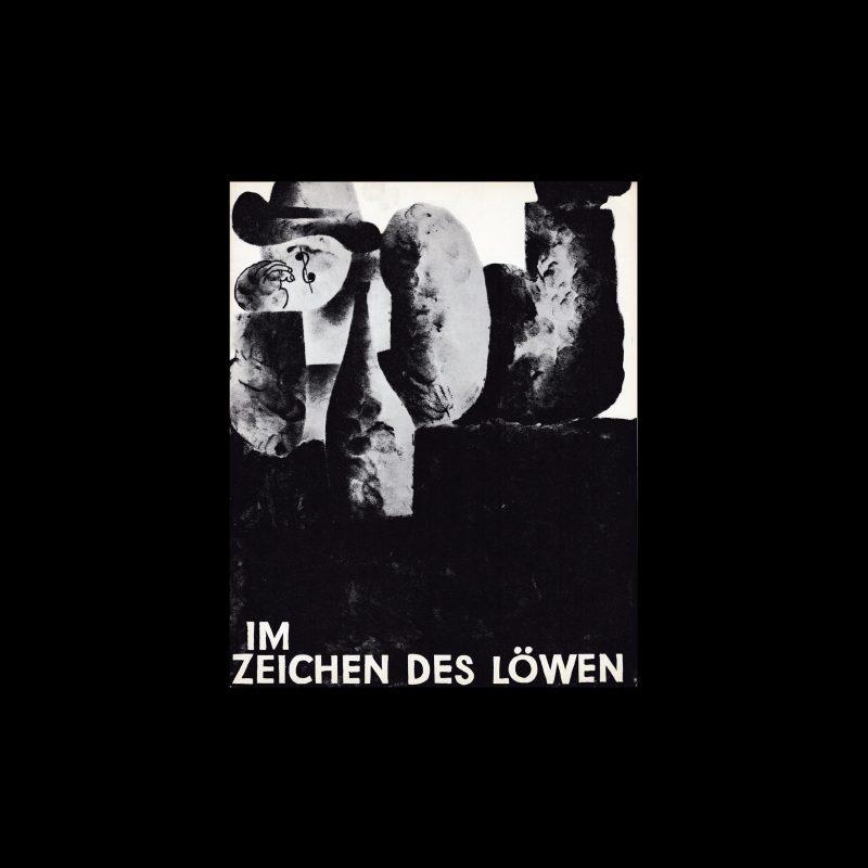 Im Zeichen Des Löwen. Die Kleine Filmkunstreihe 39 designed by Lothar Städler