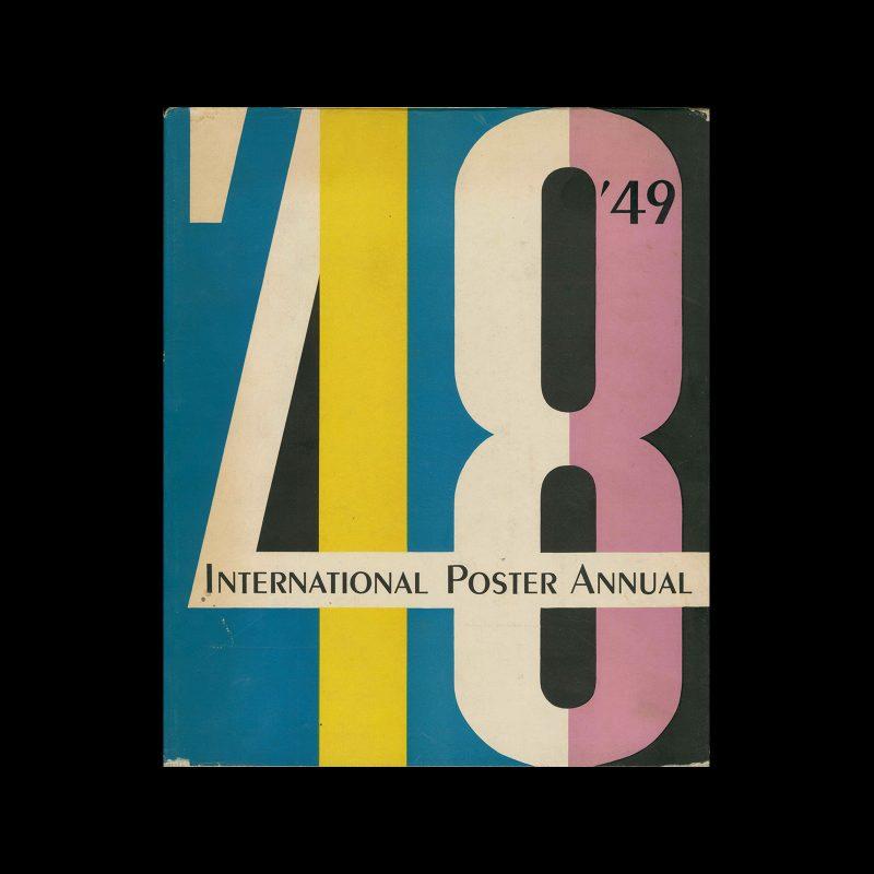 International Poster Annual - 1948 | 1949. Designed by Walter Allner