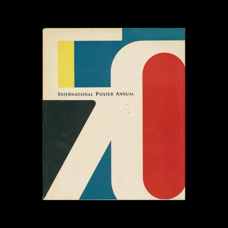 International Poster Annual - 1950. Designed by Walter Allner