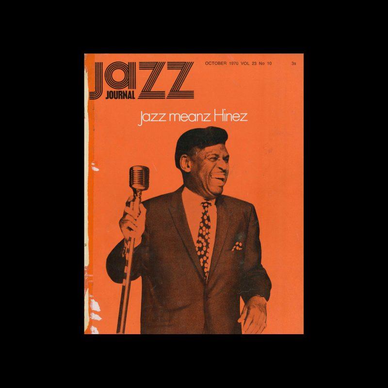 Jazz Journal, 10, 1970. Cal Swann (Design), I. Powell (Photography)