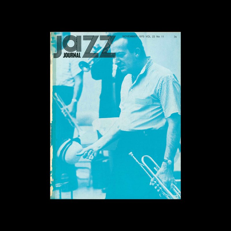 Jazz Journal, 11, 1970. Cal Swann (Design), Harry James (Photography)