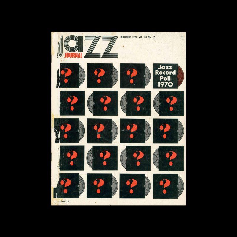 Jazz Journal, 12, 1970. Cover design by Brian Haweroft