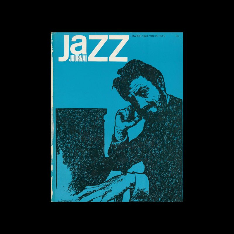 Jazz Journal, 3, 1970. Cover design by Cal Swann