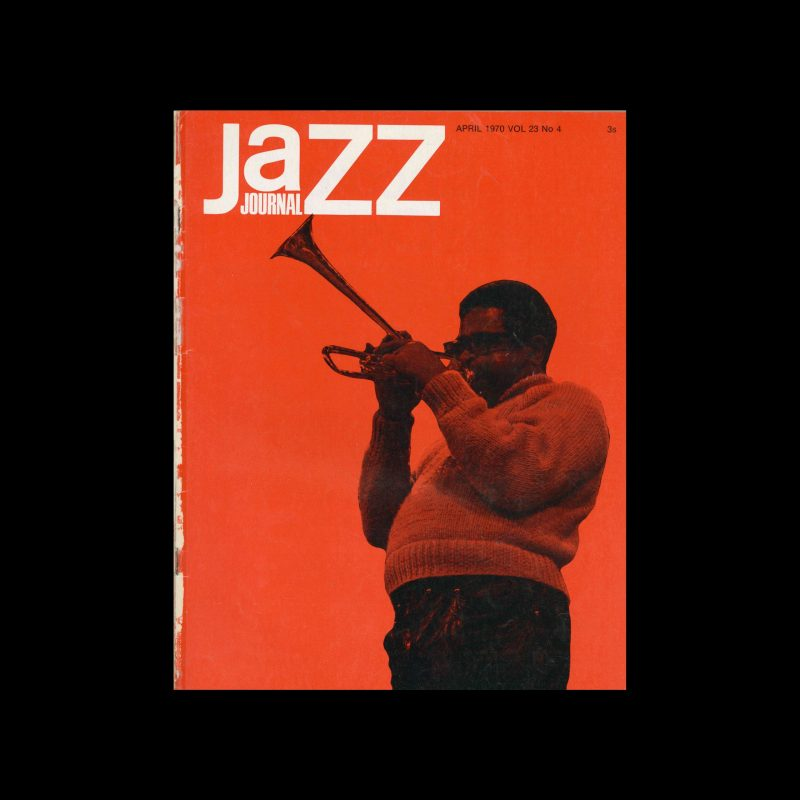 Jazz Journal, 4, 1970. Cover photography by Roy Mathers