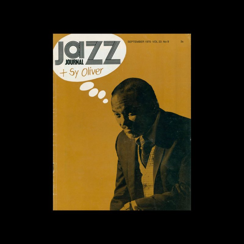 Jazz Journal, 9, 1970. Cover design by Cal Swann