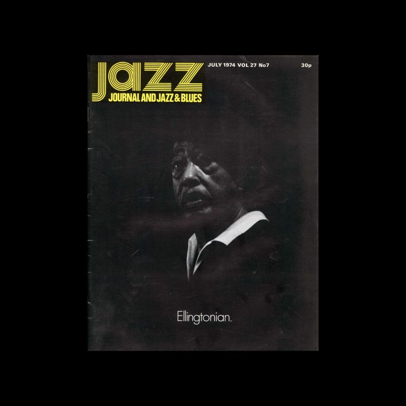 Jazz Journal, 7, 1974. Cover design by Cal Swann