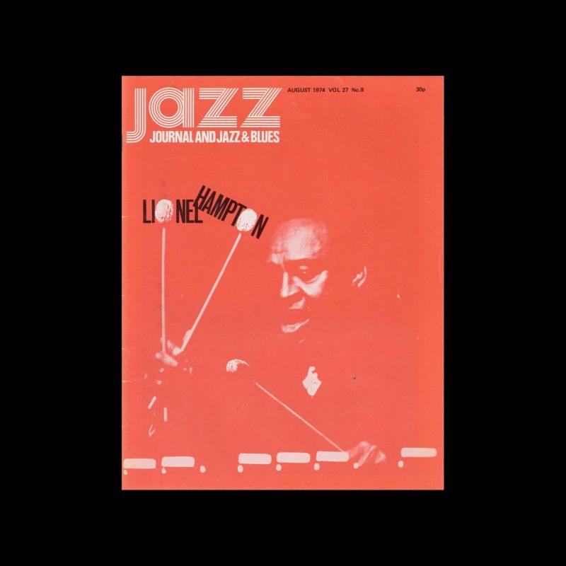 Jazz Journal, 8, 1974. Cover Cal Swann (Design), David Redfern (Photography)