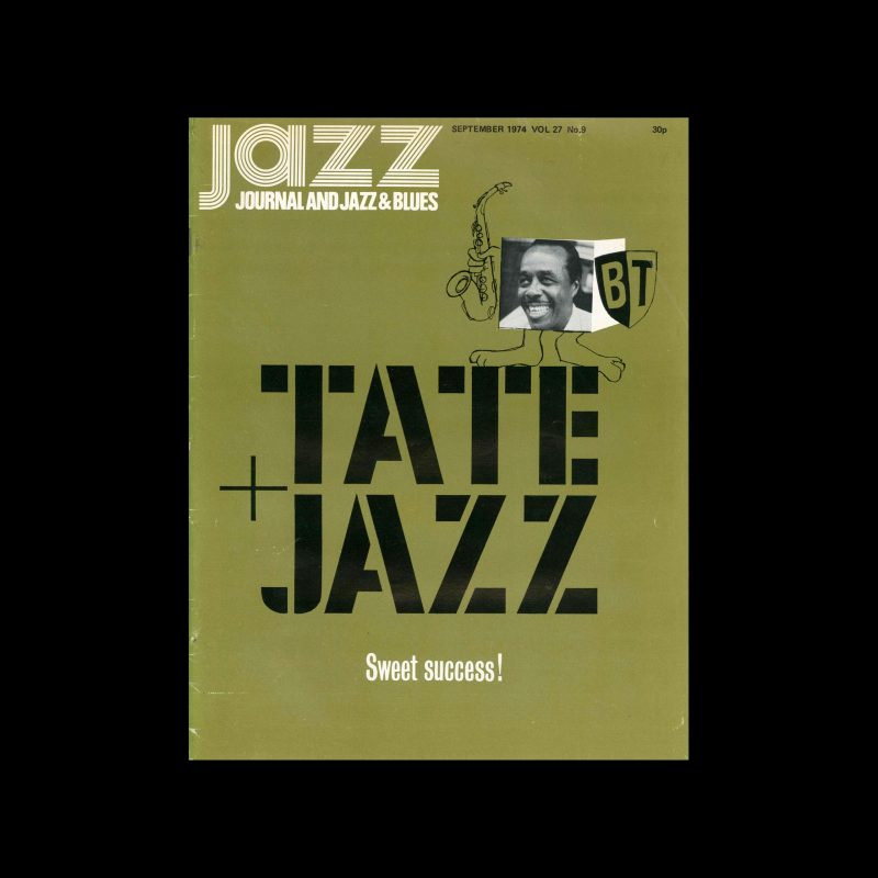 Jazz Journal, 9, 1974. Cover Cal Swann (Design), Sinclair Traill (Photography)