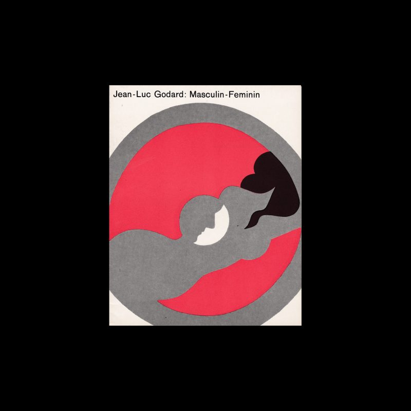 Jean-Luc Godard: Maskulin-Feminin. Die Kleine Filmkunstreihe 64 designed by Hans Hillmann