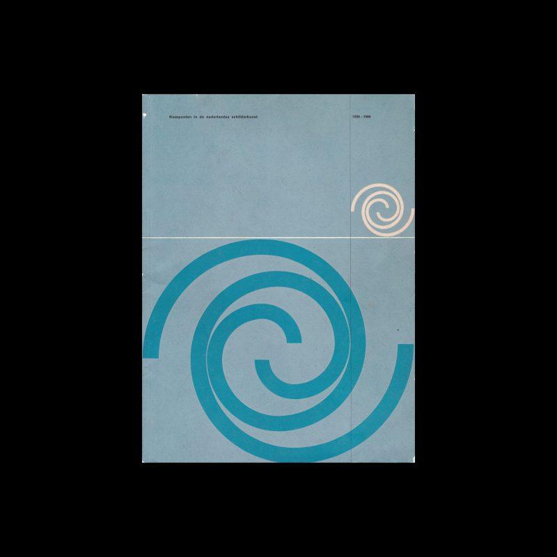 Keerpunten in de Nederlandse schilderkunst, 1920-1960, Stedelijk Van Abbemuseum | Groninger Museum voor Stad en Lande, 1960 designed by Wim Crouwel