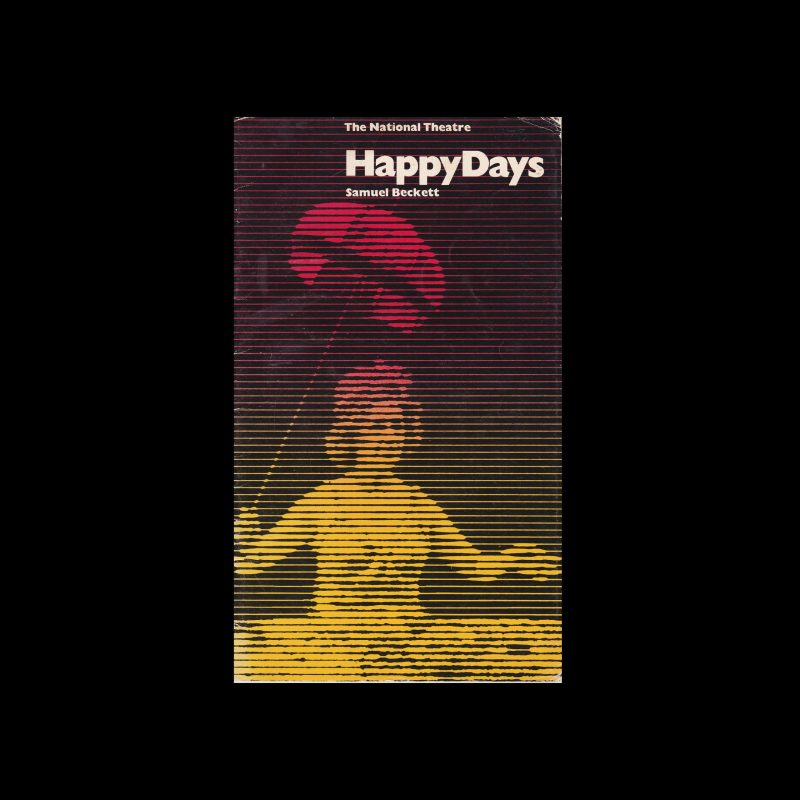 Happy Days, The National Theatre, London, 1974. Designed by Richard Bird