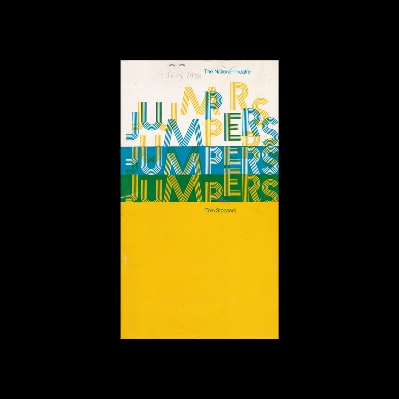 Jumpers, The National Theatre, London, 1972. Designed by Ken Briggs