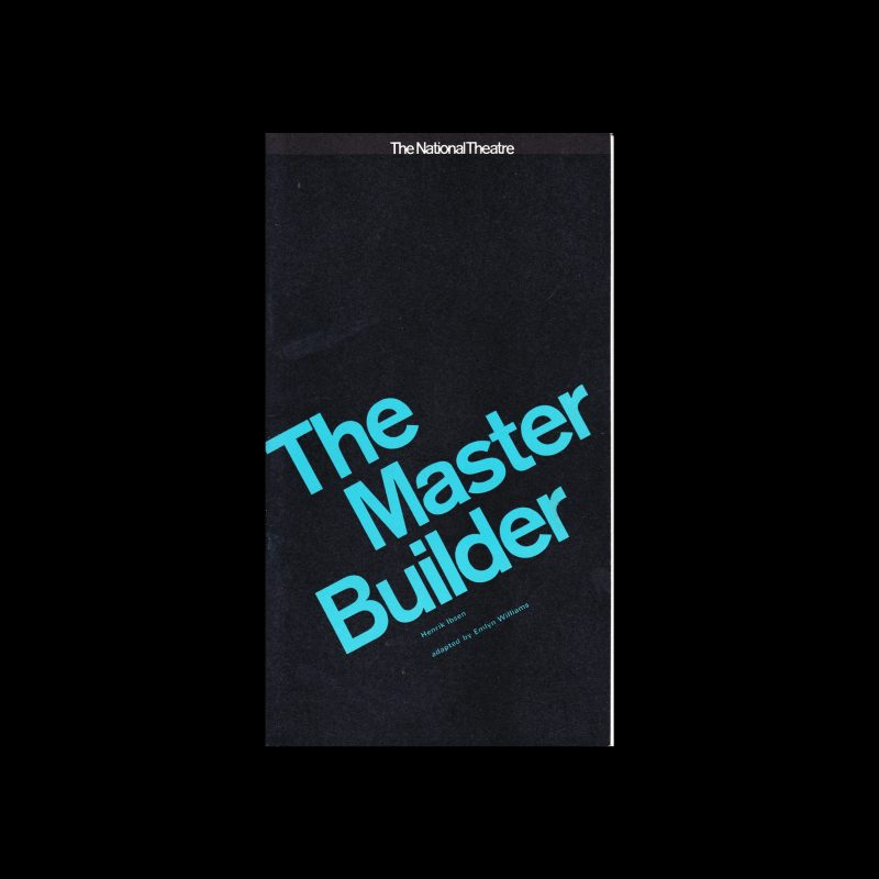 The Master Builder, The National Theatre, London, 1964. Design by Ken Briggs