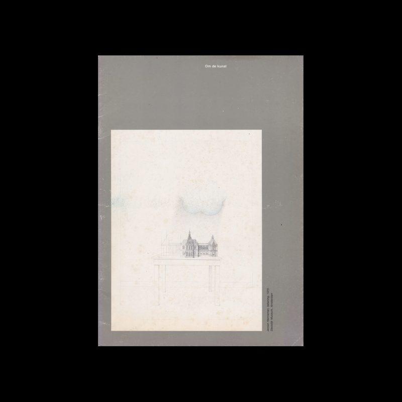 Om de kunst, Drukkerij Lecturis, 1978 designed by Wim Crouwel
