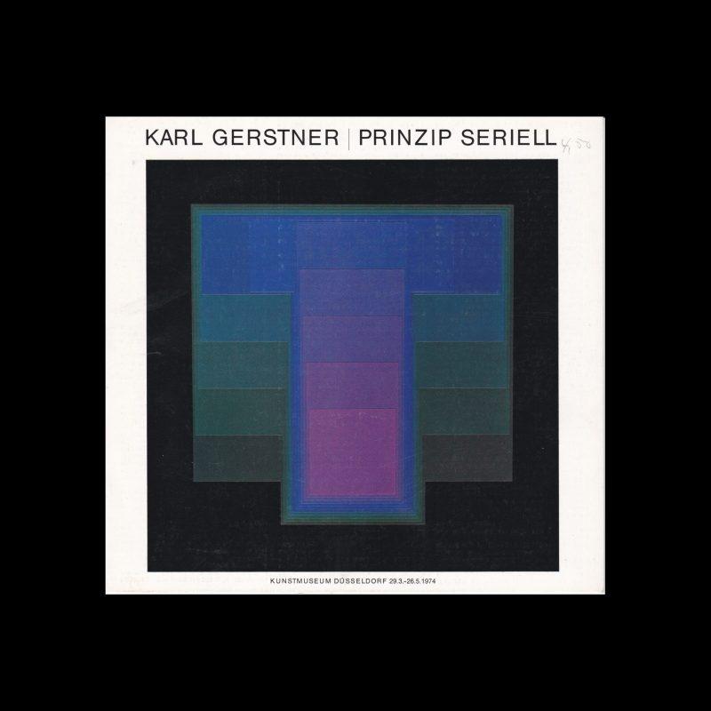 Karl Gerstner, Prinzip Seriel, Kunstmuseum Düsseldorf, 1974