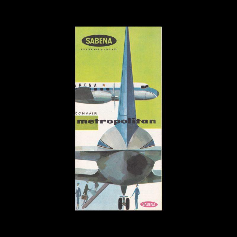 Sabena-Convair-CV-440-Metropolitan-1956.-Designed-by-Gaston-van-den-Eynde-most-likely