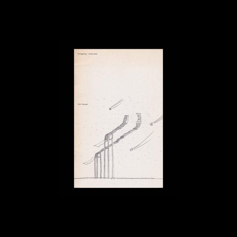 Vormgeving Zin en Onzin, 1985 designed by Wim Crouwel