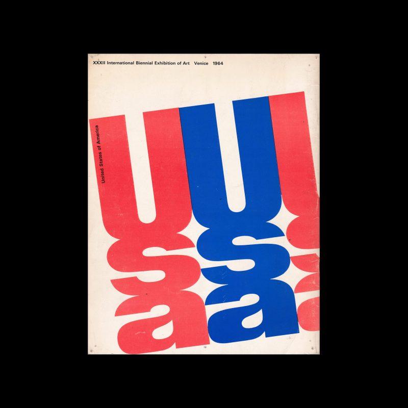 XXXII Espasizione Biennale Internazionale d'Arte, Venezia, 1964. Designed by Elaine Lustig