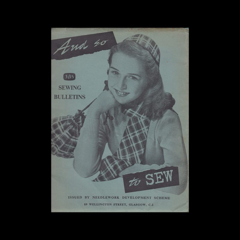 And So To Sew Folder, 1950s