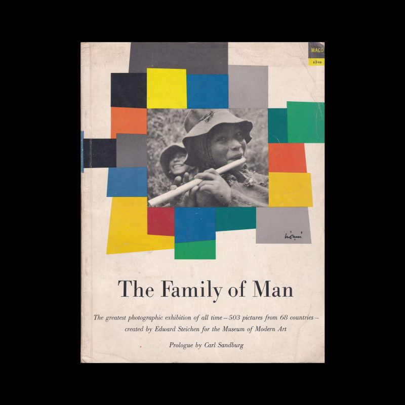 The Family of Man, 1955, design by Leo Lionni