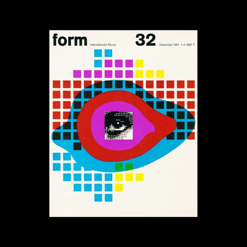 Form, Internationale Revue 32, December 1965. Designed by Karl Oskar Blase